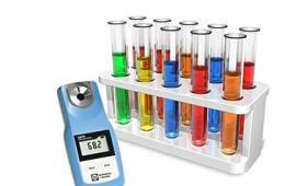 Các máy đo độ ngọt tổng hợp có thang đo 0 đến 90 độ brix