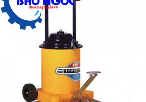 Giới thiệu máy bơm mỡ bò bằng chân