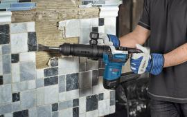 Nhũng ưu điểm nổi bật của máy đục bê tông Bosch