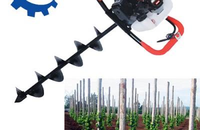 Vai trò của máy khoan lỗ trồng cây đa năng trong việc chôn trụ tiêu