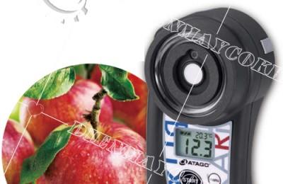 Phân tích nồng độ acid trong nước hoa quả bằng máy đo độ ngọt