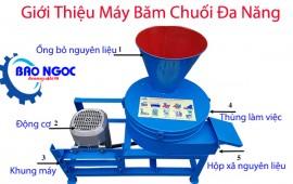 [Review] máy băm chuối đa năng tại điện máy Bảo Ngọc