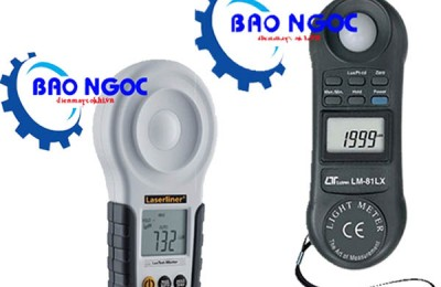 Một số loại máy đo ánh sáng lux kế HOT nhất hiện nay