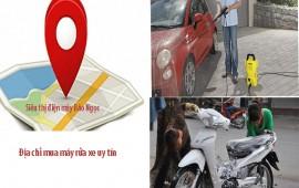 Địa chỉ bán máy rửa xe uy tín chất lượng