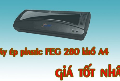 Máy ép ảnh FEG 280 khổ A4 có giá tốt nhất