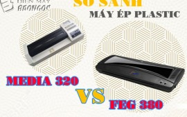 So sánh máy ép plastic feg 380 và máy ép plastic media 320