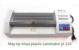 Hướng dẫn sử dụng máy ép nhựa plastic laminator yt 320