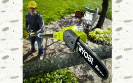Các sử dụng máy cắt cành cây trên cao an toàn