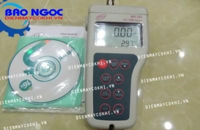 Review máy đo độ dẫn, TDS, nhiệt độ cầm tay AD332