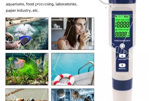 Máy đo độ mặn là gì ? Có bao nhiêu loại máy đo độ mặn