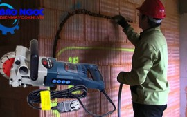 Những điều cần phải nắm được khi sử dụng máy cắt rãnh tường