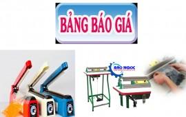 Báo giá máy hàn miệng túi năm 2019- Siêu thị điện máy Bảo Ngọc