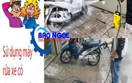 Sự cố và cách khắc phục xử lý sự cố của máy rửa xe.