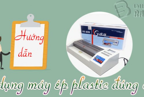 Hướng dẫn sử dụng máy ép nhựa plastic một cách đúng nhất