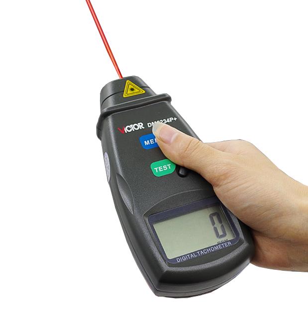 Thiết bị máy đo tốc độ vòng quay mini cầm tay, chất lượng uy tín