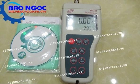 Máy đo độ dẫn EC/ TDS/ Nhiệt độ cầm tay AD332
