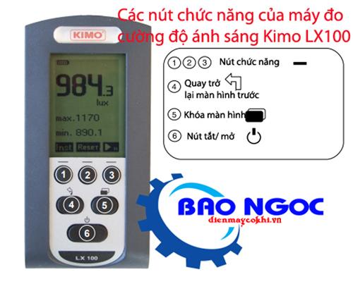 Máy đo cường độ ánh sáng KIMO LX100
