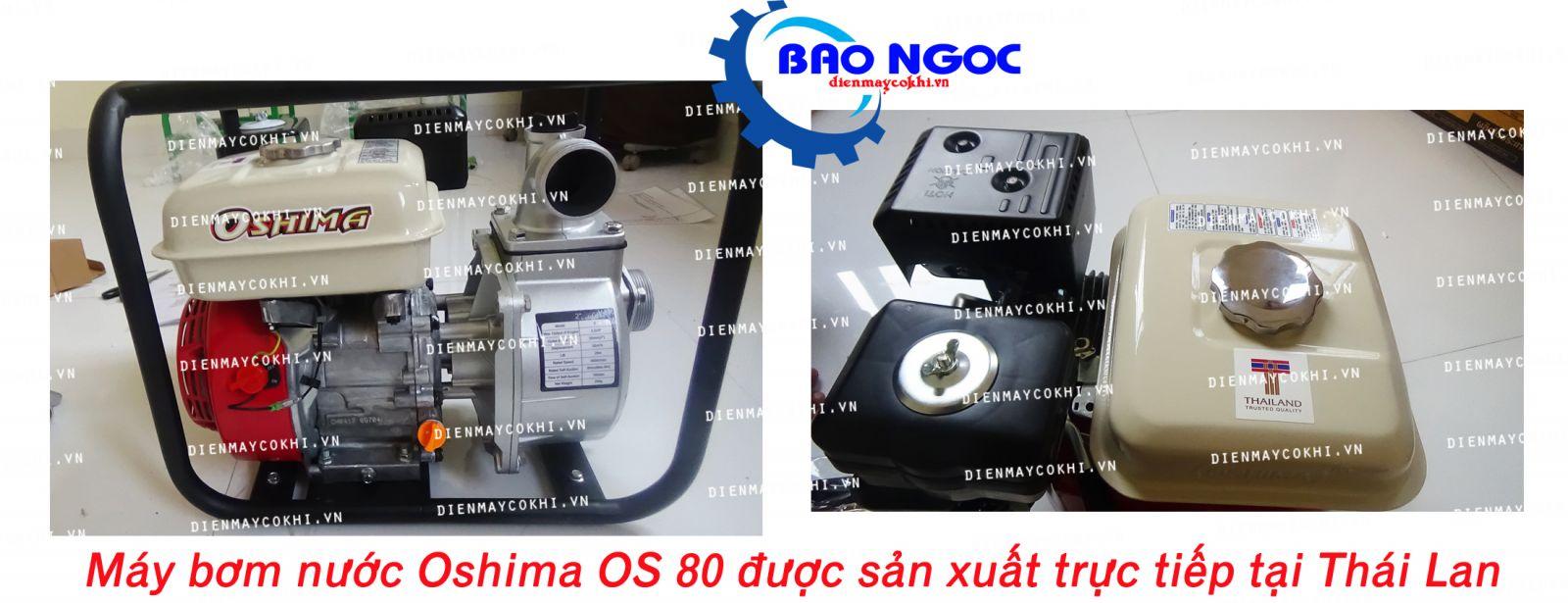 Máy bơm nước Oshima OS80