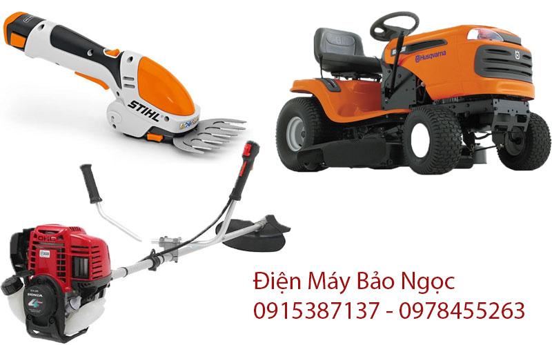 Các loại máy cắt cỏ