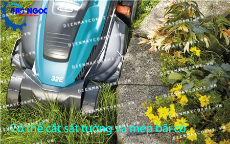 Máy cắt cỏ chạy điện Gardena 32E