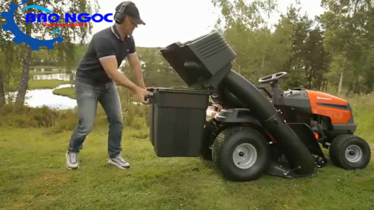 Máy cắt cỏ người lái Husqvarna LT154