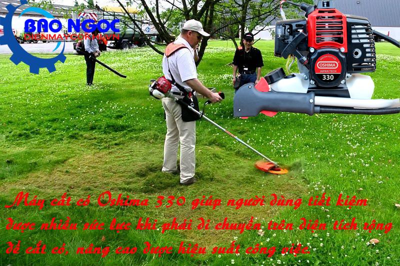 Máy cắt cỏ 2 thì Oshima 330