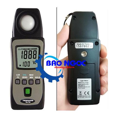 Máy đo ánh sáng Tenmars TM-720