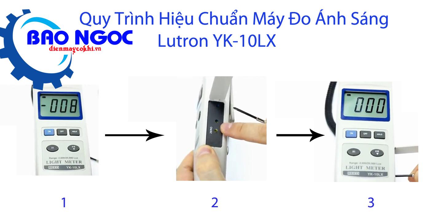 Máy đo ánh sáng Lutron YK-10LX