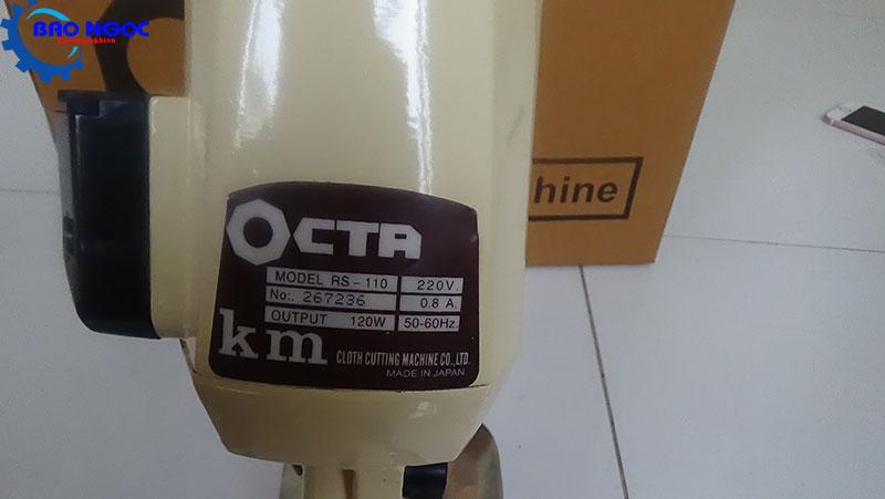 Thông số máy cắt vải cầm tay Octa RS-110