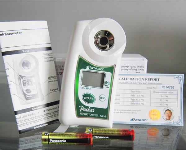 máy đo độ ngọt Atago PAL-3