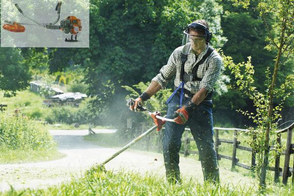 Cảnh giác với máy cắt cỏ đeo vai