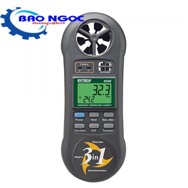 Máy đo tốc độ gió Extech 45160