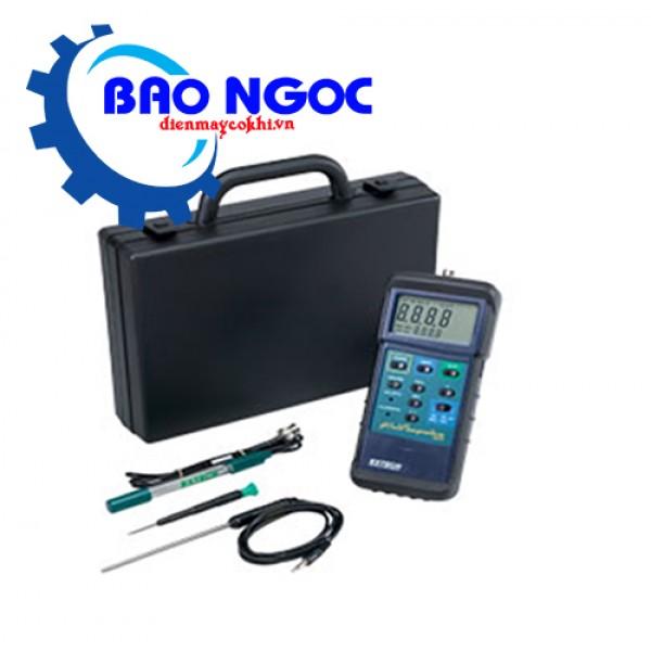 Máy đo PH với thăm dò nhiêt độ Extech 407228