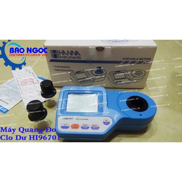 Máy Quang Đo Clo Dư HI96701