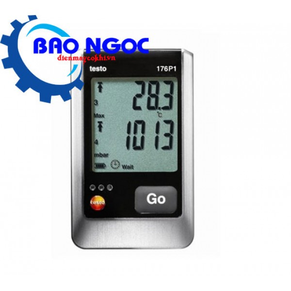 Thiết bị ghi nhiệt độ, độ ẩm và áp suất tuyệt đối Testo 176-P1