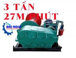 Tời kéo mặt đất KENBO JK3 3 tấn 27m/phút