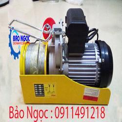 Máy tời điện HUGO PA1000-12m(1000kg)