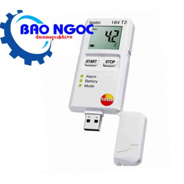 Máy đo nhiệt độ tự ghi testo 184-T2