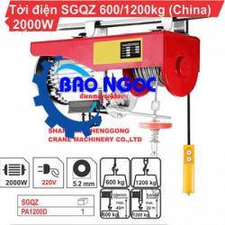 Máy tời điện SGQZ PA 1200
