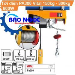 Máy tời điện Vital PA 300