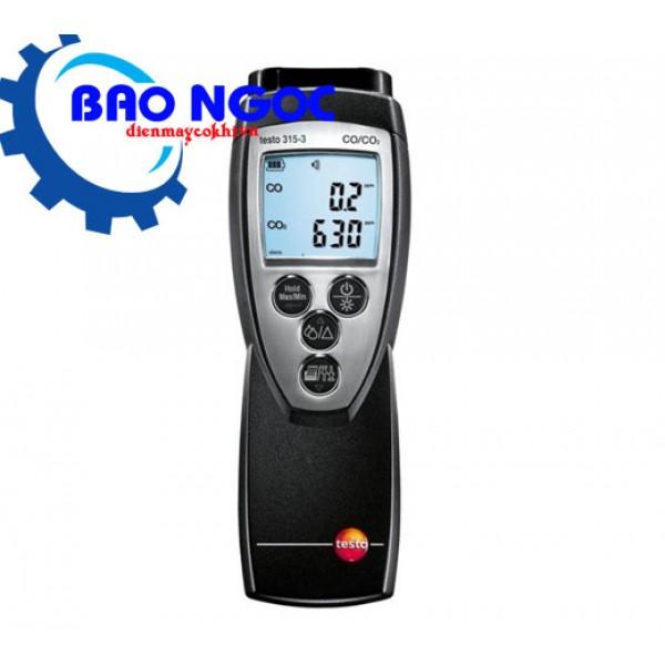 Thiết bị đo nồng độ CO và CO2 môi trường xung quanh testo 315-3