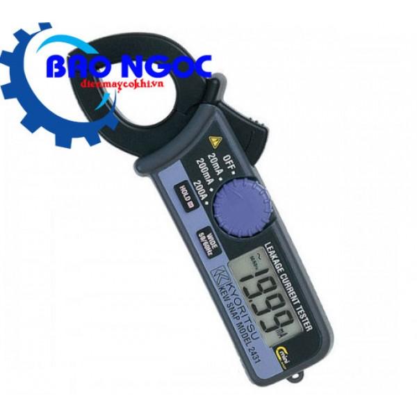 Ampe kìm đo dòng dò KYORITSU 2431
