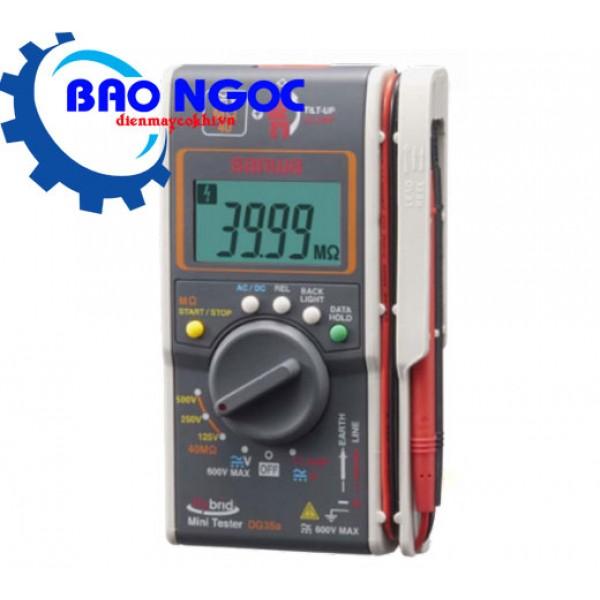 Ampe kìm kết hợp đo điện trở cách điện Sanwa DG35A