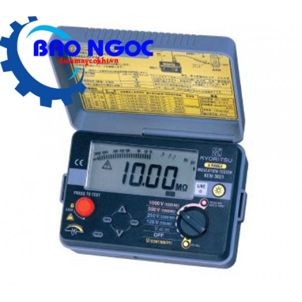 Đồng hồ đo điện trở cách điện KYORITSU 3023