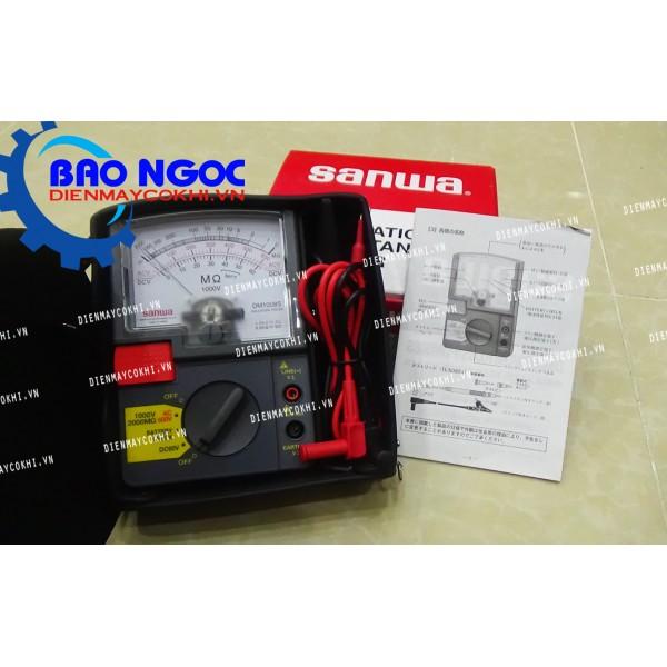 Đồng hồ đo điện trở cách điện Sanwa DM1008S
