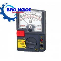 Đồng hồ đo điện trở cách điện Sanwa DM508S