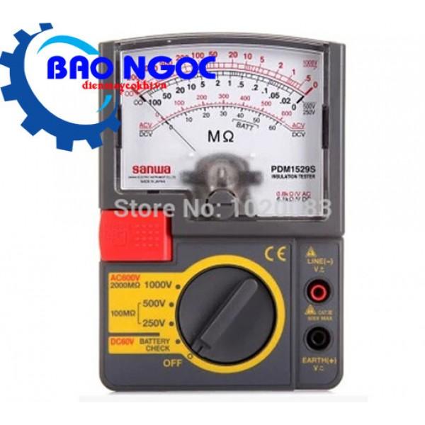 Đồng hồ đo điện trở cách điện Sanwa PDM1529S