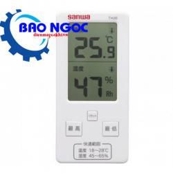 Đồng hồ đo nhiệt độ / độ ẩm Sanwa TH20