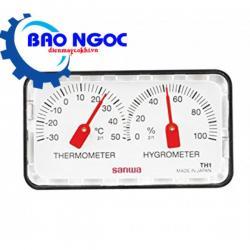Đồng hồ đo nhiệt độ / độ ẩm Sanwa TH21