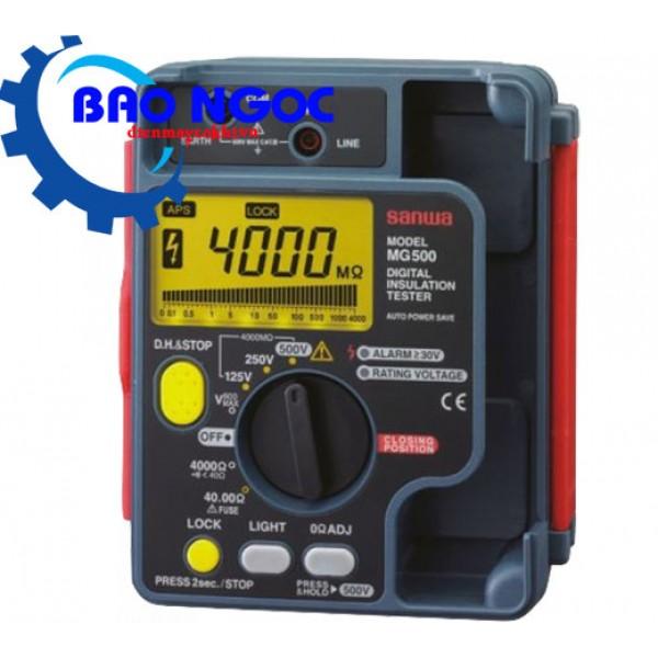 Máy đo điện trở cách điện Sanwa MG500